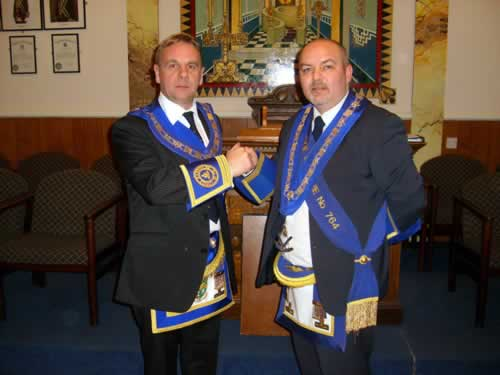 RW Masters Bro D Baisley 776 and C Davie 764